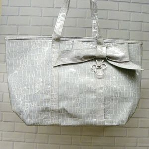 Walt Disney World Mickey Mouse Gray Tote Disney